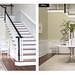 Benjamin Moore dreamy stairs