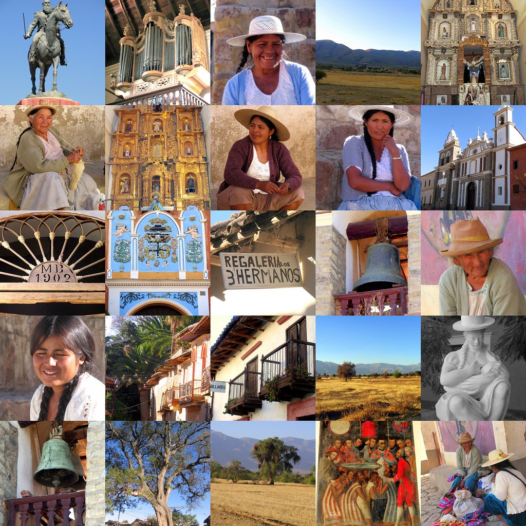 tarata collage  bolivia