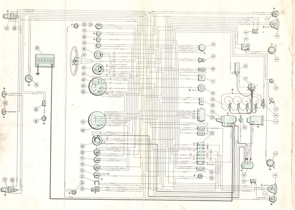 Fiat 1500 Wiring Diagram