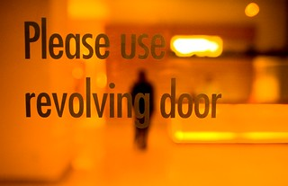 Please Use Revolving Door | by Thomas Hawk