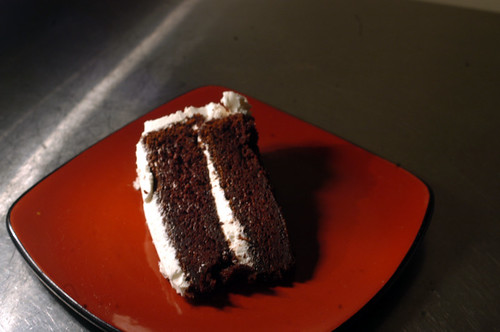 Devil's Food Cake With Vanilla Icing | by Bordecia34