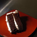 Devil's Food Cake With Vanilla Icing