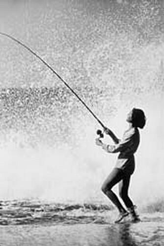 Surf Fishing At Va Beach