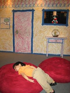 Jarron Resting In Elmo S World Flickr Photo Sharing