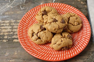 Flourless Peanut Butter Chocolate Chip Cookies | by Tracey's Culinary Adventures