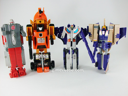triple changer transformers