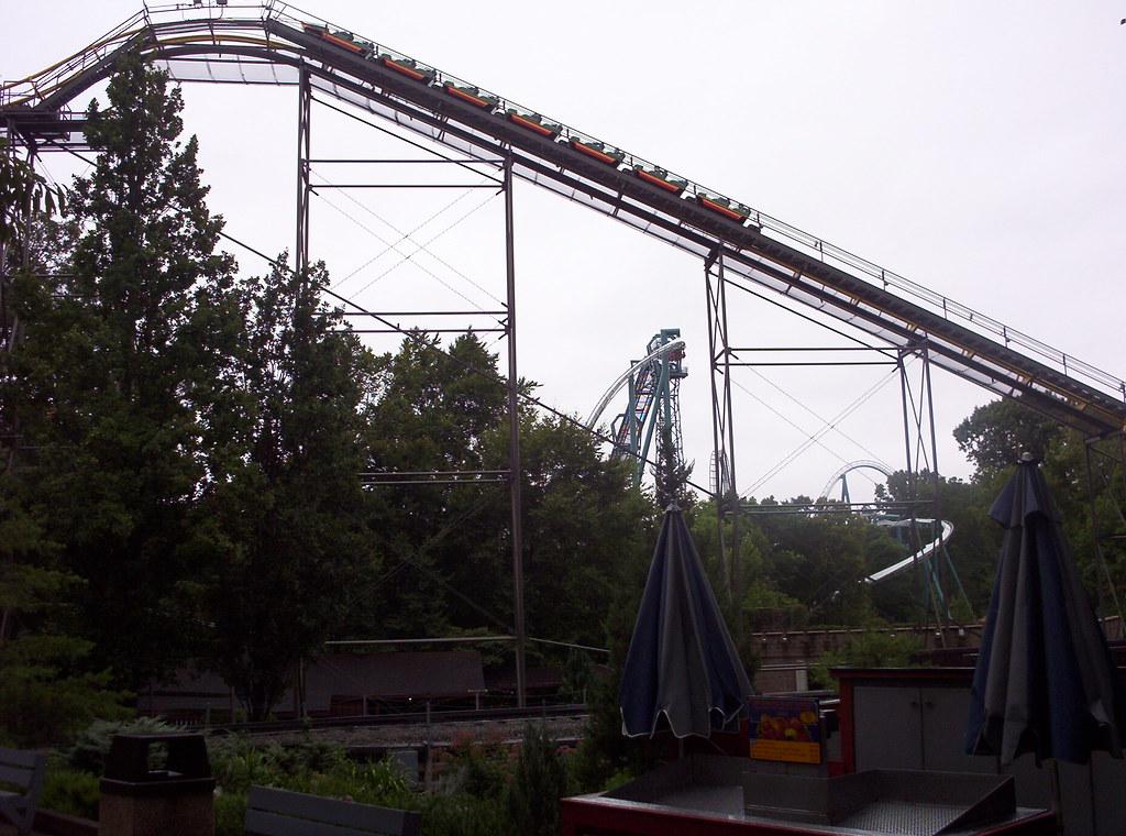 Loch Ness Monster Rollercoaster Busch Gardens Europe Theme Flickr
