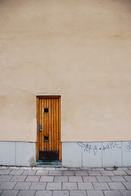 ... Fredrik__Andersson Small door in the wall | by Fredrik__Andersson & Small door in the wall | Door next to the restaurant Landetu2026 | Flickr