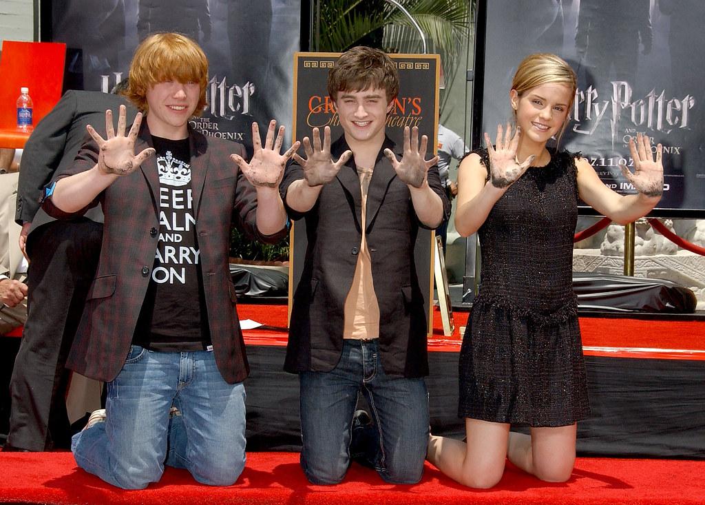 Daniel Radcliffe And Rupert Grint Actor Rupert Grint, ac...