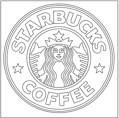 Starbucks Coloring Page Download