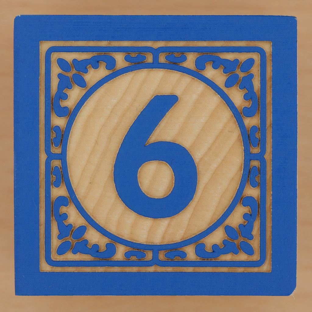 Number  Block Letter