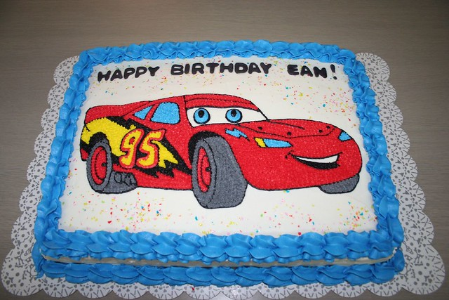 Lighting Mcqueen Birthday Cake Please Let Me Know What