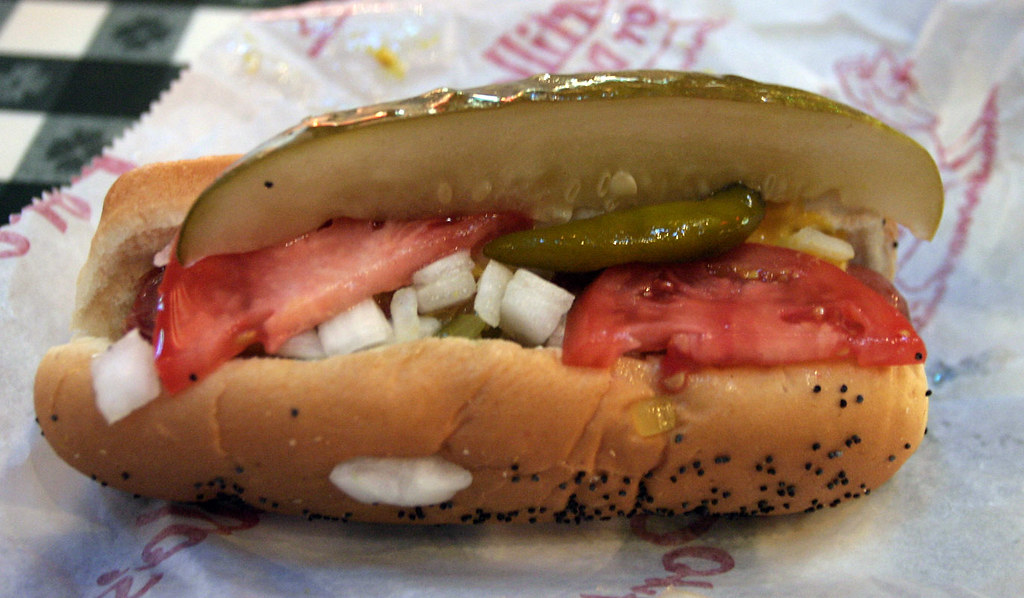 Hot Dog Places Downtown Chicago
