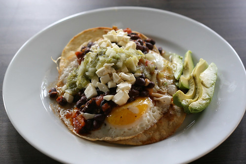 Heuvos Rancheros: Step 4: Garnish and Om nom nom | by Tom Purves