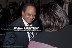 The Hon. Reverend Walter FAUNTROY