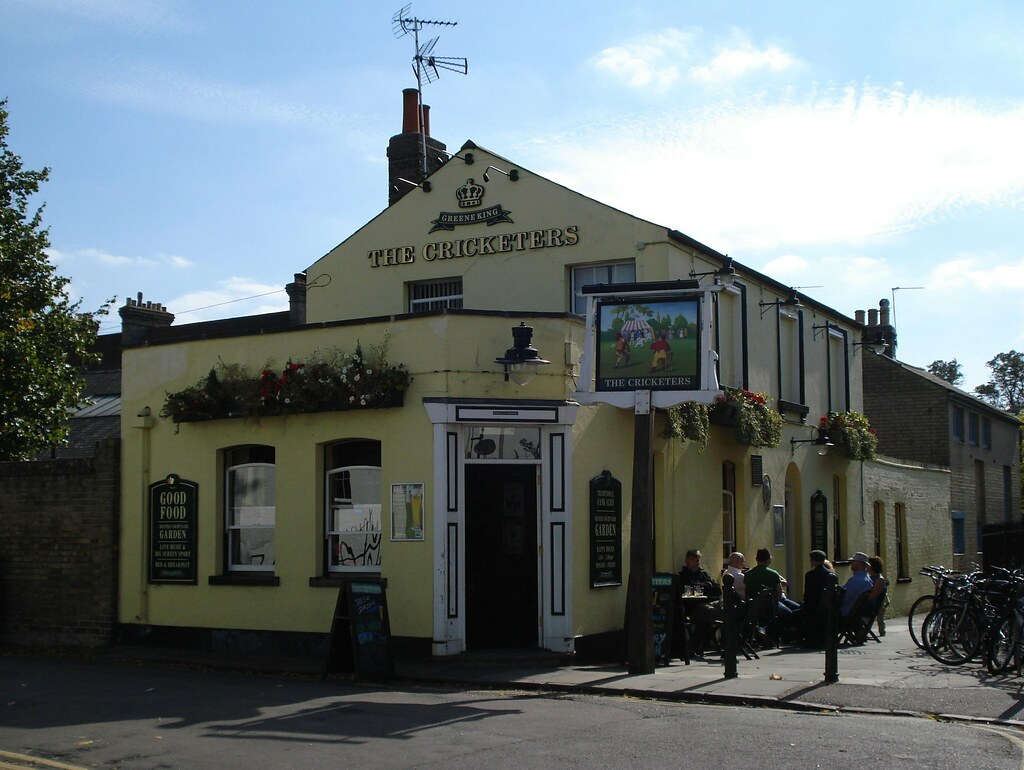 The Cricketers, Cambridge | Open Guide to Cambridge entry. | Flickr