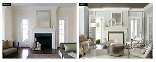 Benjamin Moore dreamy living room | by Benjamin Moore Colors