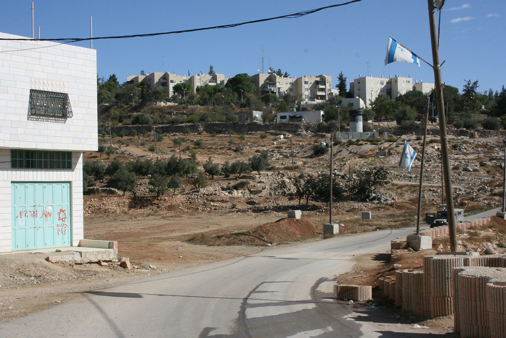 Settlers-only road | by ISM Palestine