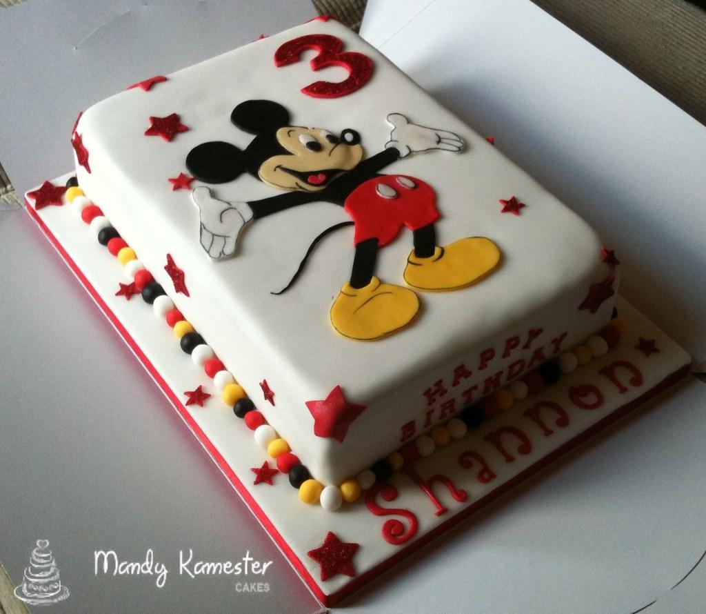 Mini Mickey Mouse Cake Pan