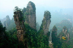 Zhangjiajie Cable Car | by john0philip