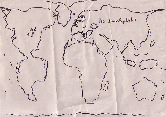 Mercator world map drawn from memory errata not enough flickr mercator world map drawn from memory by ianmackinnon gumiabroncs Images