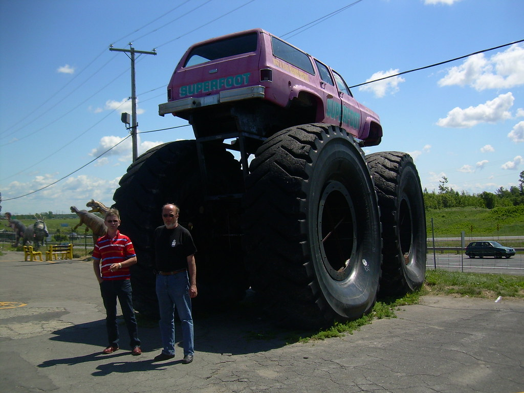 This is the real Super Monster Truck. Biggest in the world ...
