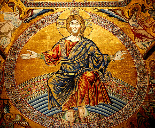 Mosaic Of Jesus Christ In Florence Baptistry Bbmaui