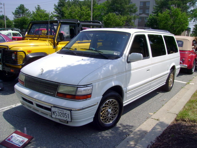 1995 Chrysler Town Amp Country Maryland Motor Vehicle