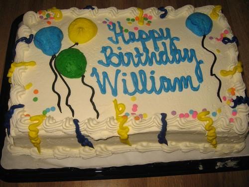 Happy Birthday William Cake Images