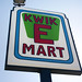 Kwik-E-Mart Sign Close-Up