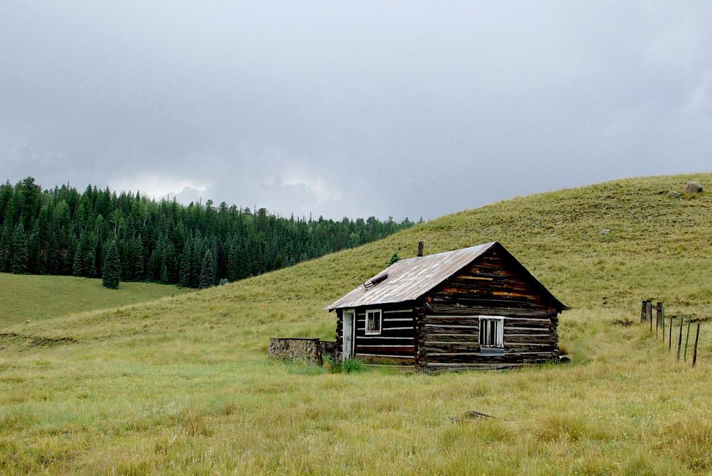 Abandoned Cabin White Mountains Arizona We Went