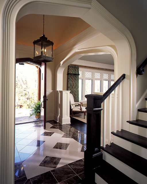 Foyer Layout Jobs : Tudor estate foyer a beautiful vaulted groin ceiling