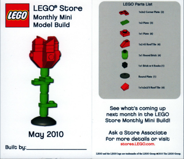 lego store mmmb may 39 10 rose us lego store monthly model flickr. Black Bedroom Furniture Sets. Home Design Ideas