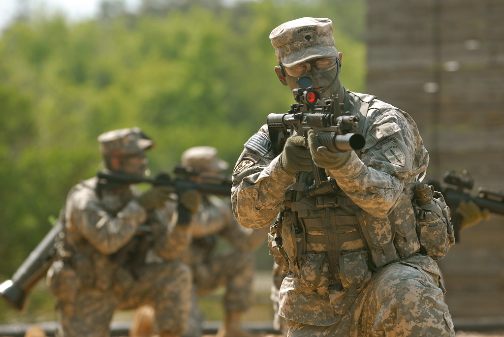 the elite airborne rangers of the united states