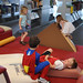 Children playing in the Broome Library's children's section during the 4th Annual Children's Reading Celebration and Young Authors' Fair