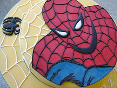 Spiderman Cake 1 | by rosey sugar