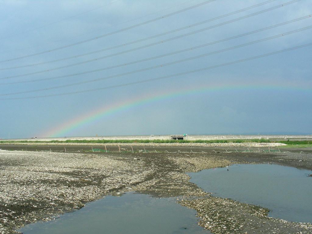 大肚溪口的彩虹 Rainbow
