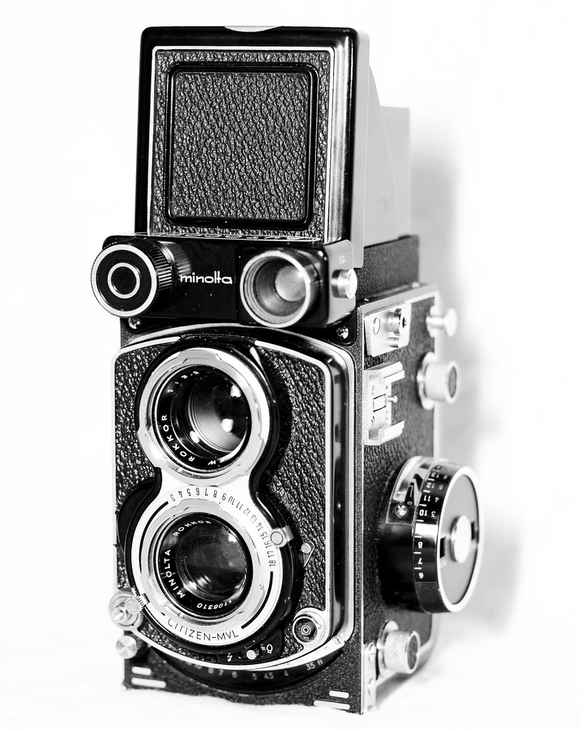 Minolta Autocord Tlr Camera Minolta Autocord Cds Tlr