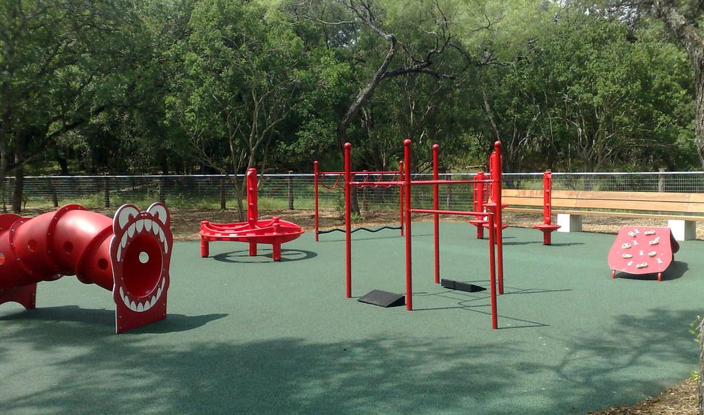 Playground, Phil Hardberger Park | Photo by Heather DiMasi | Flickr