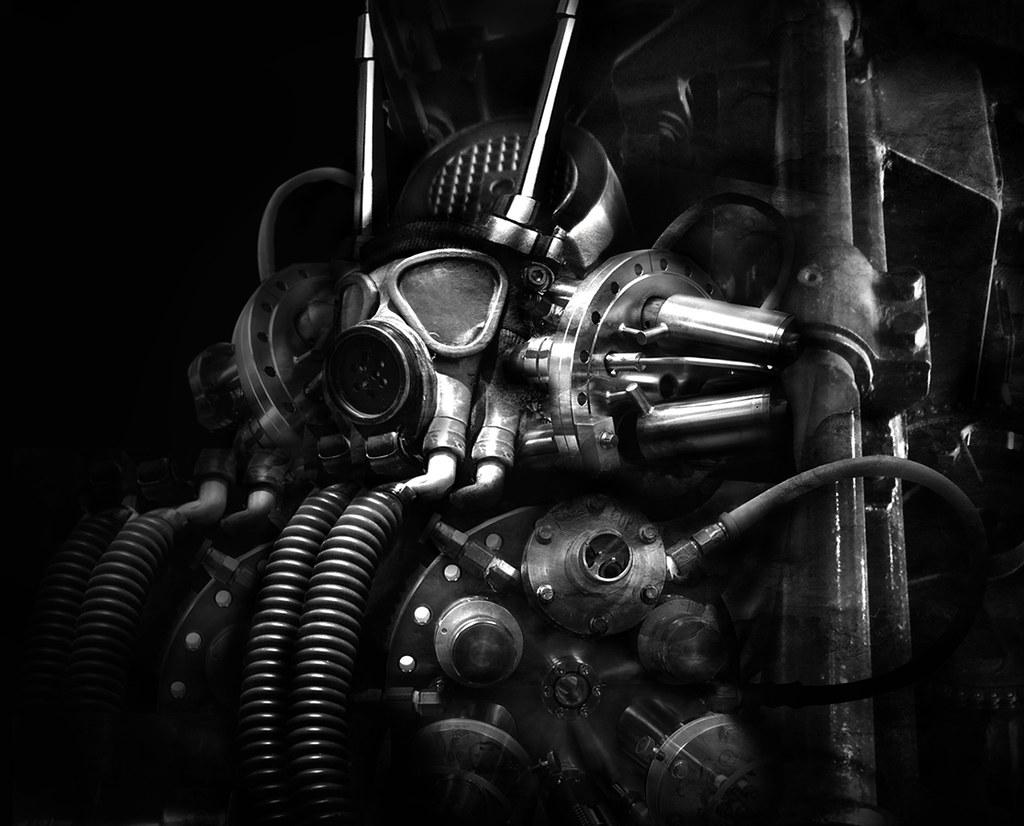 Cyber industrial mask wallpaper skyclad0 1 flickr