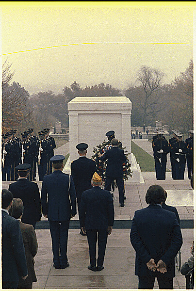Jimmy Carter Lays A Wreath At The Tomb Of The Unknown Sold