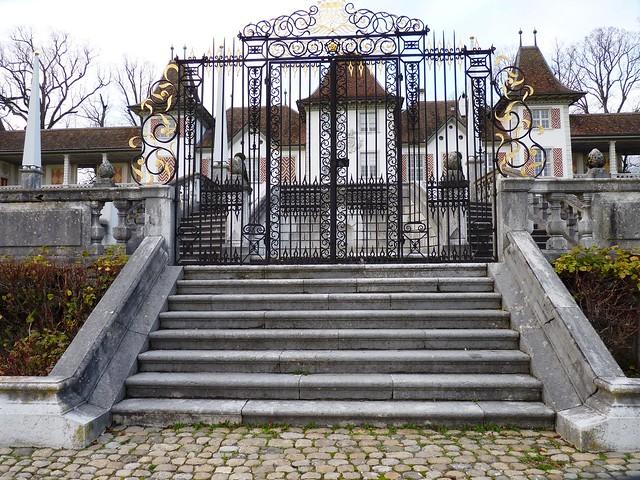 The Gates of Castle Waldegg, Feldbrunnen, Switzerland