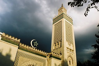 Stormy weather over the mosque. Paris | by fredcan