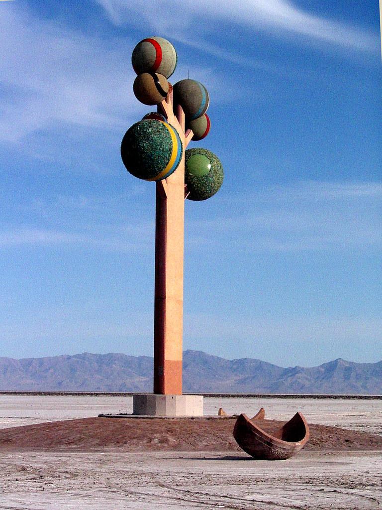 Concrete Tree Salt Flats Utah Jim Mulcahy Flickr