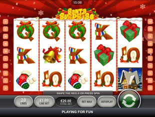 Santa Surprise Mobile slot game online review