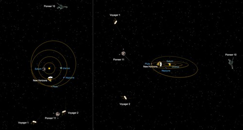VCSE - A legtávolabbi űrszondák - APOD