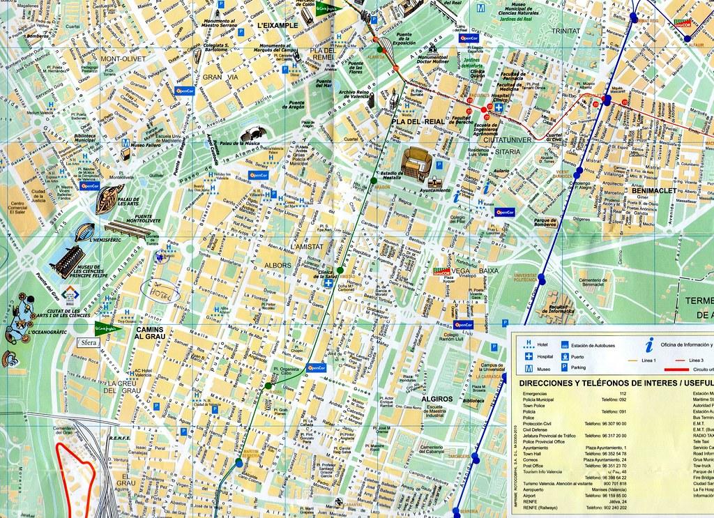 mapa de valencia espanha Mapa de Valência – Espanha – Living in Iberia mapa de valencia espanha
