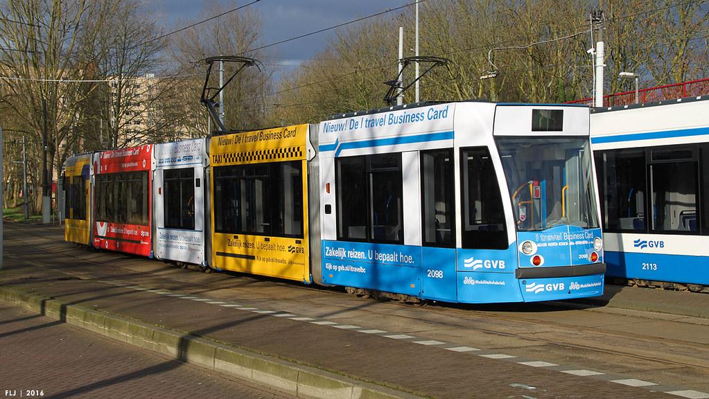 Gvb siemens combino 13g c1 2098 gvb mobiliteitsfabri for Amsterdam b b centro