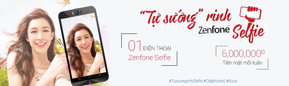 Mua ASUS ZenFone, Giảm giá - Tặng pin - CellphoneS