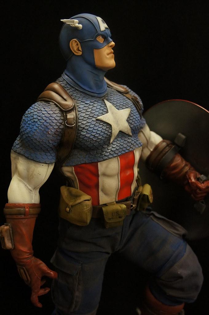 Custom Captain America Premium Format  25167065709_4628234a8c_b